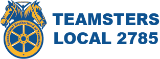 Teamsters Labor Union Local 2785 Logo