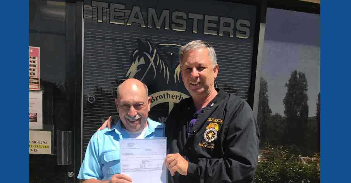 Teamsters Secures Backpay