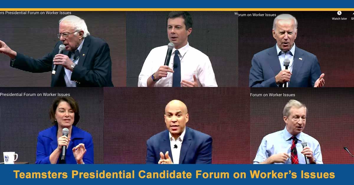 Teamsters 2020 Presidential Forum